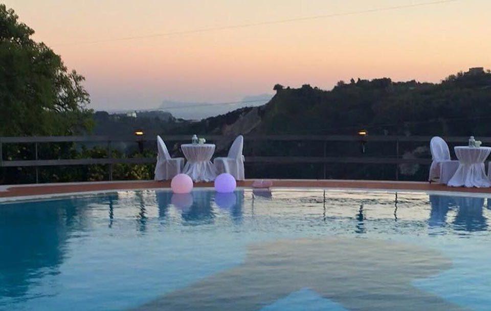 Location con piscina